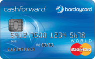 Barclaycard CashForward™ World Mastercard®  - Card Image