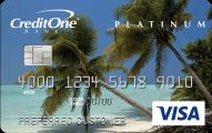 Credit One Bank® Cash Back Credit Card - Card Image