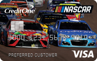 Official NASCAR® Credit Card from Credit One Bank® - Card Image