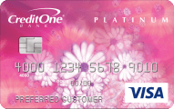 Credit One Bank® Unsecured Visa® Credit Card - Card Image