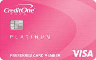 Credit One Bank® Unsecured Visa® with Free Credit Score Tracking
