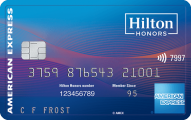 Hilton Honors Ascend Card from American Express - Card Image