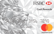 HSBC Cash Rewards Mastercard® credit card - Card Image