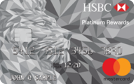 HSBC Platinum MasterCard® with Rewards credit card - Card Image