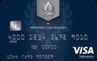 USAA Preferred Cash Rewards Visa Signature®  - Card Image