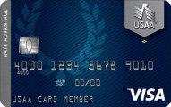 USAA Rate Advantage Platinum Visa® - Card Image