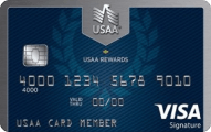 USAA Rewards™ Visa Signature® - Card Image