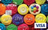 Credit One Bank® Unsecured Visa® with Cash Back Rewards - Card Image