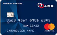ABOC Platinum Rewards Mastercard® Credit Card - Card Image