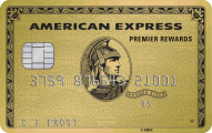 Premier Rewards Gold Card from American Express  - Card Image