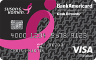 Susan G. Komen® Credit Card - Card Image