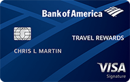 Bank of America® Travel Rewards Credit Card - Card Image