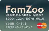 FamZoo Debit Mastercard