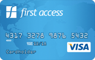 The First Access Visa® Credit Card - Card Image