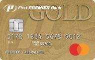 First PREMIER® Bank Gold Credit Card - Card Image