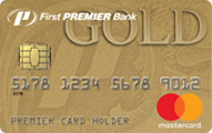 First PREMIER® Bank Gold Credit Card - Card Image