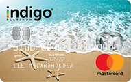 Indigo® Unsecured Mastercard® - Prior Bankruptcy is Okay - Card Image