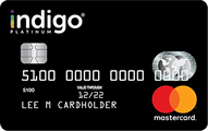Indigo® Mastercard® with Fast Pre-qualification - Card Image