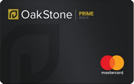 Oakstone Gold Secured Mastercard®