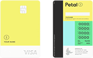 "Petal 2 ""Cash Back, No Fees"" Visa® Credit Card"