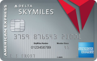 Platinum Delta SkyMiles® Credit Card from American Express - Card Image