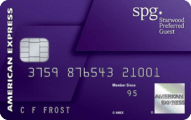 Starwood Preferred Guest® Credit Card from American Express - Card Image