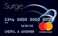 Surge Mastercard® - Card Image